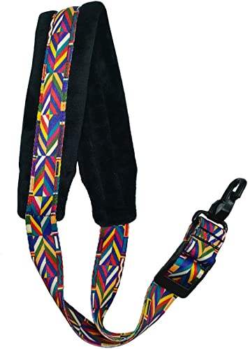 Xavnia Saxophone Strap Rainbow Style