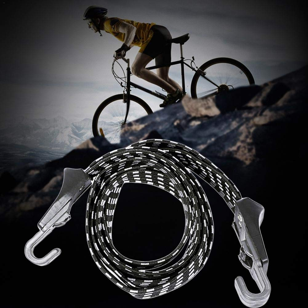Outdoor Cycling Bandage Straps For Fastening Luggage And Backpacks Waroomss 70cm Elastic Bungee Cords With Hooks