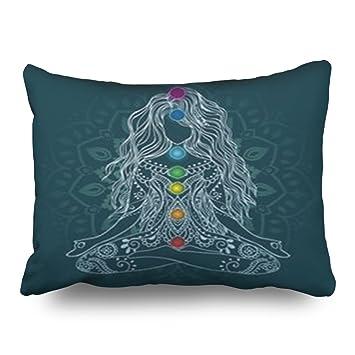 LOLYeah - Fundas de Almohada Decorativas para Yoga ...