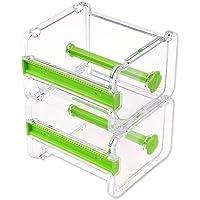 2 stks HomDSim Washi Tape Dispenser Cutter, Roll Tape Houder Organizer, Afplakband Desktop Tape DIY Sticker Roll Tape…