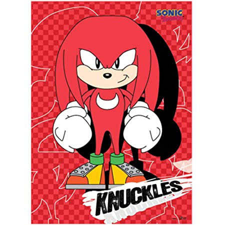 Great Eastern Entertainment Sonic Classic Knuckles Wall Scroll, 33 by 44-Inch