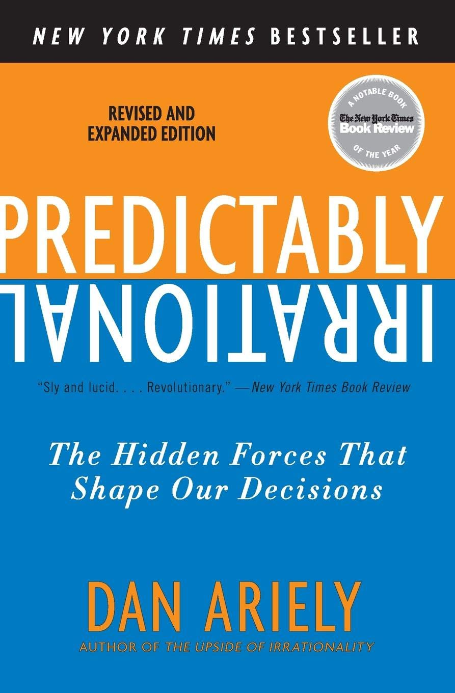 Image result for Predictably Irrational by Dan Ariely