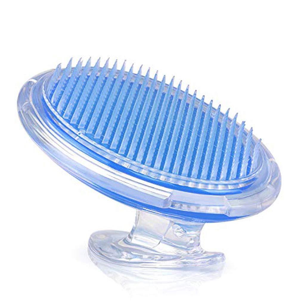 Spazzola per il corpo scrub per il trattamento e la prevenzione di urti da barba e peli incarniti per uomini e donne, spazzola a setole flessibili per eliminare l'irritazione da barba per viso, ascella, gambe, linea bikini BTTBEST
