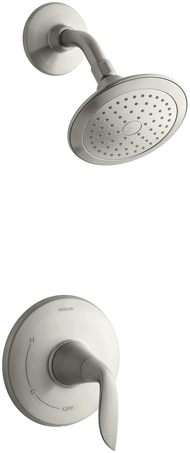 80%OFF KOHLER K-T5320-4-BN Refinia Shower Trim, Valve Not Included, Vibrant Brushed Nickel