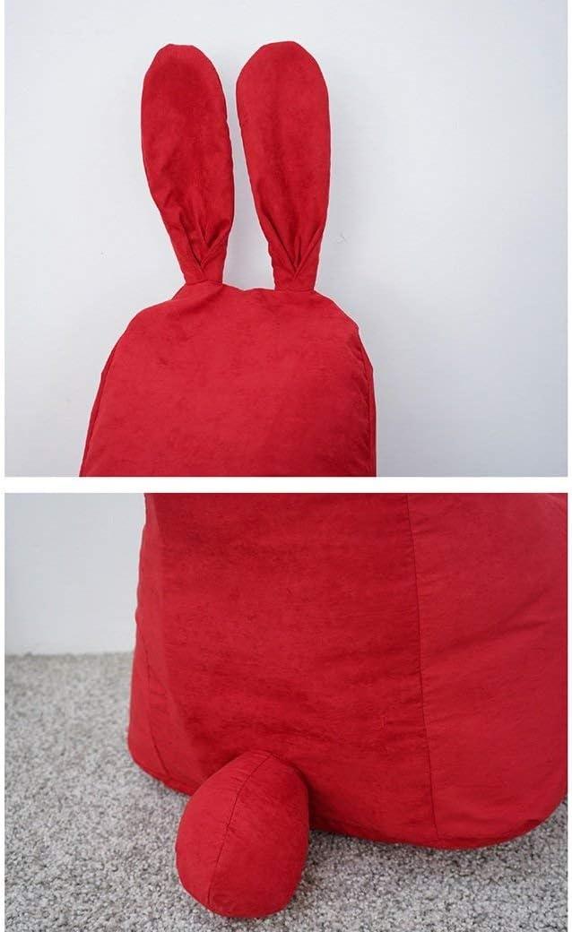 Brisk Creativity Cute Rabbit Modeling Bean Bag de tamaño pequeño Silla de dormitorio perezosa fdh/A H