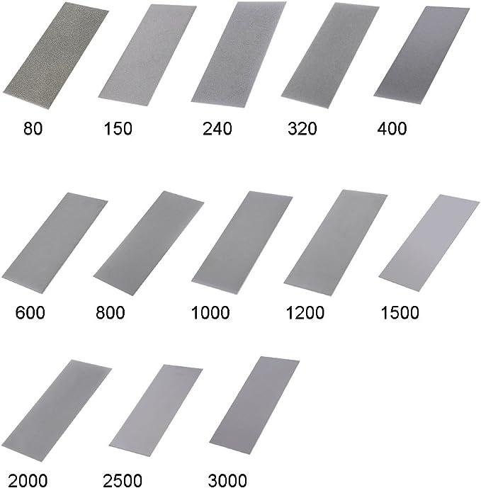 1500 Grit Thin Polishing Diamond Plate Sharpening Stones Whetstone Tool 240-3000 Grit