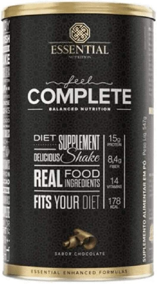 Feel Complete Balanced Nutrition - 547g Chocolate - Essential Nutrition, Essential Nutrition