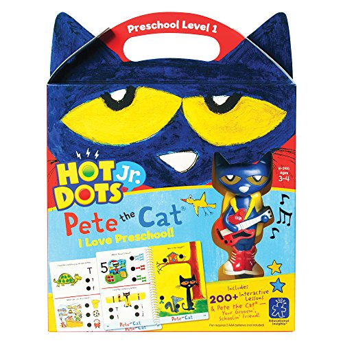 (Educational Insights Hot Dots Jr. Pete the Cat I Love Preschool!)