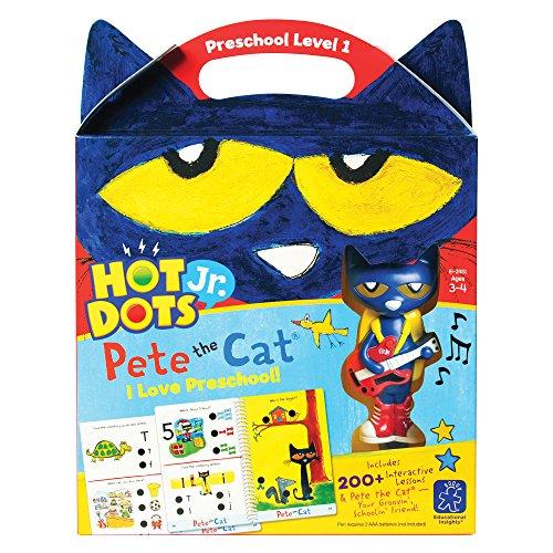 Educational Insights Hot Dots Jr. Pete the Cat I Love Preschool! -