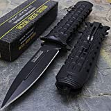 8.5″ TAC FORCE DAGGER STYLE SPRING ASSISTED TACTICAL FOLDING KNIFE Blade Pocket by Only US
