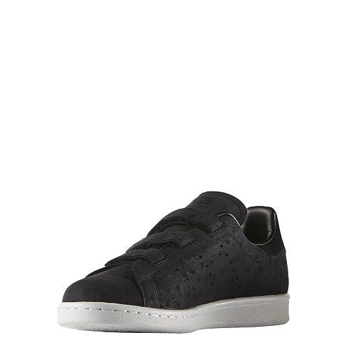 adidas Stan Smith cf, zapatillas bajas de mujer, Negro (negro), 44 ...