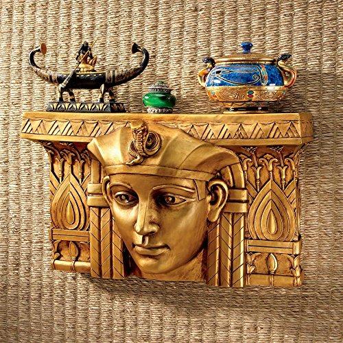 Design Toscano Pharaoh Rameses I Egyptian Ruler Wall Sculpture