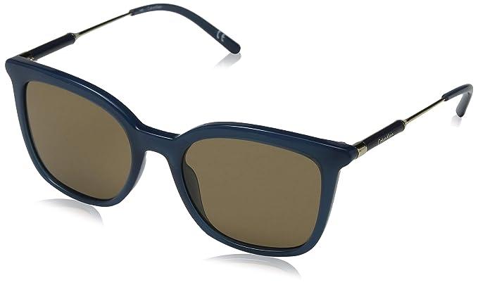 Calvin Klein 205W39nyc CK3204S 431 53 Gafas de sol, Petroleo ...