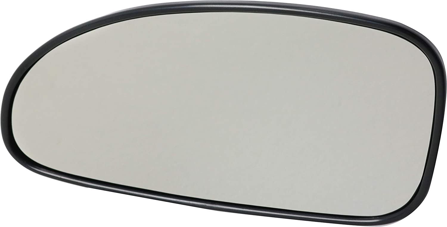 Kool Vue Mirror Glass Compatible with Buick Lesabre 2000-2005 Mirror Glass Driver Side Heated with Backing Plate