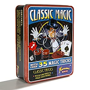 Fantasma Retro Classic Magic Set – With over 35 Magic Tricks – Mystifying Magic to Amaze Your Friends