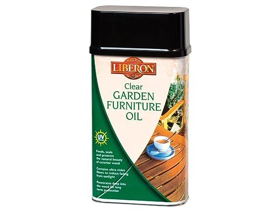 Liberon Gfocl1L 1L Garden Furniture Oil Clear