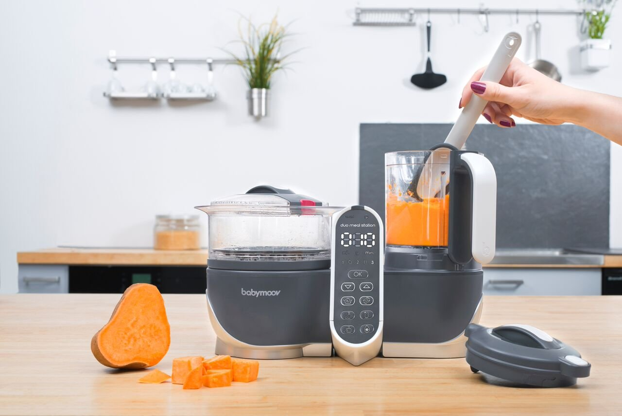 Duo Meal Station Food Maker | 6 in 1 Food Processor with Steam Cooker, Multi-Speed Blender, Baby Purees, Warmer, Defroster, Sterilizer (2019 NEW VERSION) by Babymoov (Image #8)