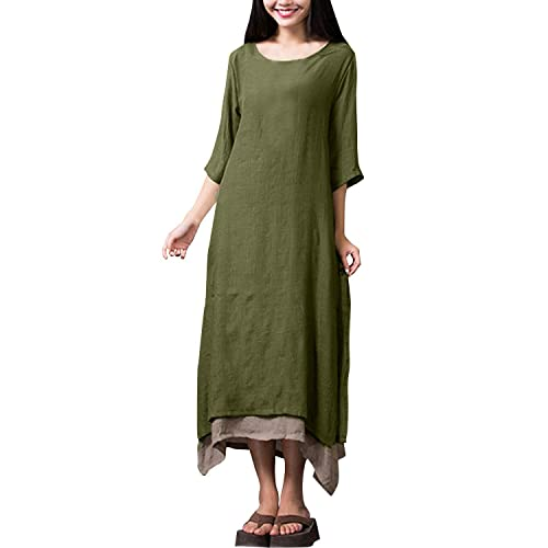 ZANZEA Womens Vintage Boho Sen Girl Long / Half Sleeve / Sleeveless /Sling Shirt A