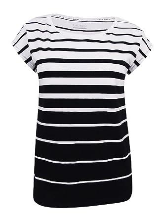 f27d76251abee7 Image Unavailable. Image not available for. Color  Lauren Ralph Lauren  Women s Striped Tee (L ...