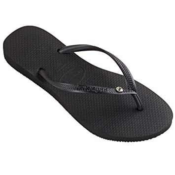 683defb2f18cc Image Unavailable. Image not available for. Color  Womens Havaianas Slim  Crystal Glamour Sw ...