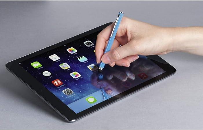 Tableta, Universal, Azul, Aluminio, 106 mm, 1 Pieza s Hama Easy l/ápiz Digital Azul L/ápiz para Tablet