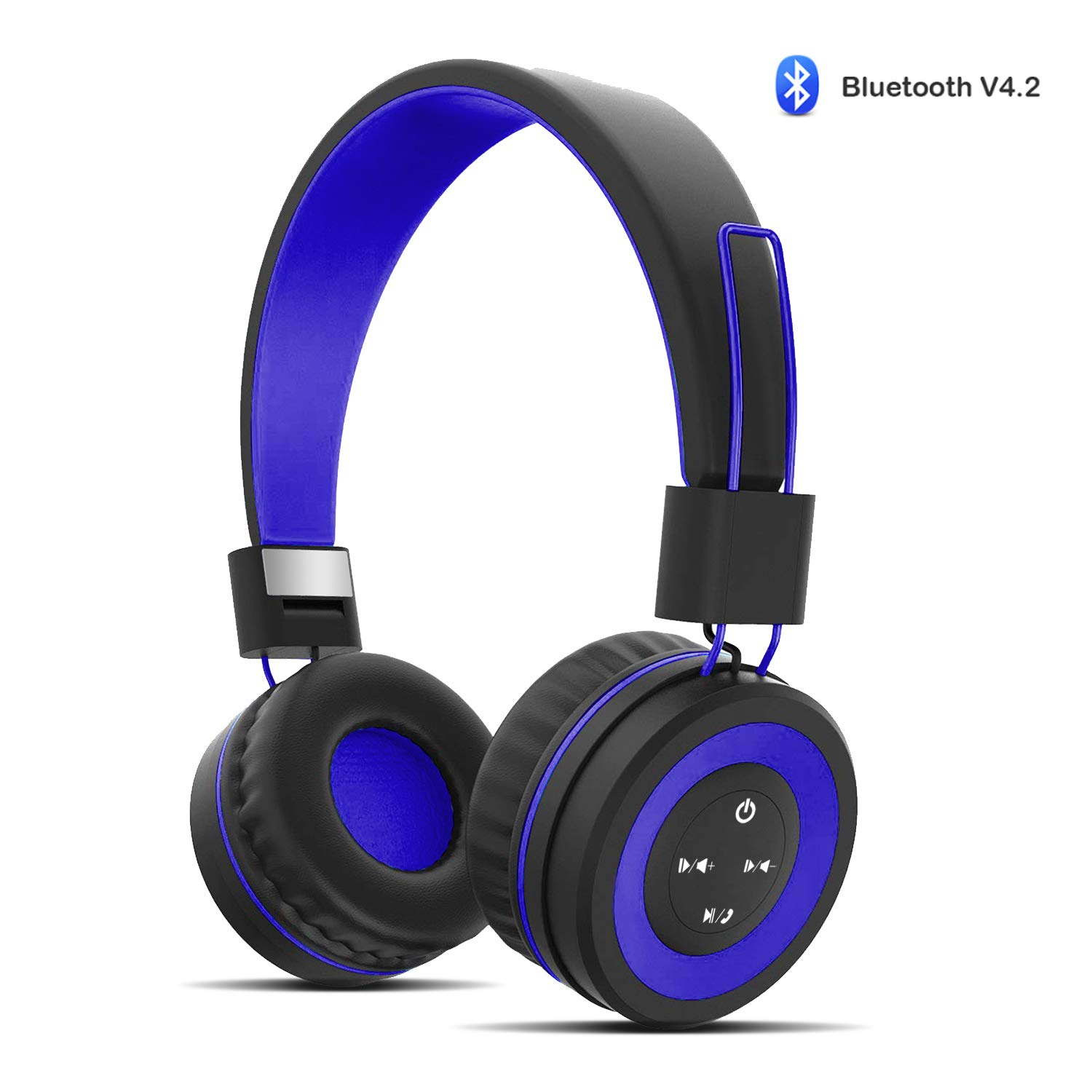 Fanxieast Kids Headphones Foldable Wired Over Ear Headphone for Kids Children Toddlers Boy Girl – 3.5mm Jack 95 dB Volume Limited Wireless