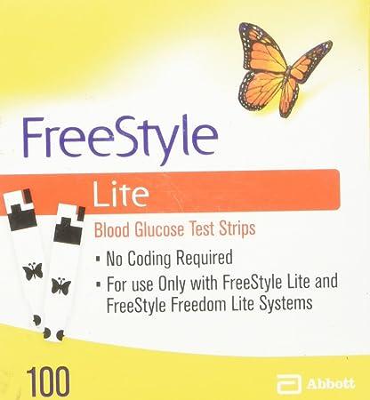 glugose Free strips test lite style