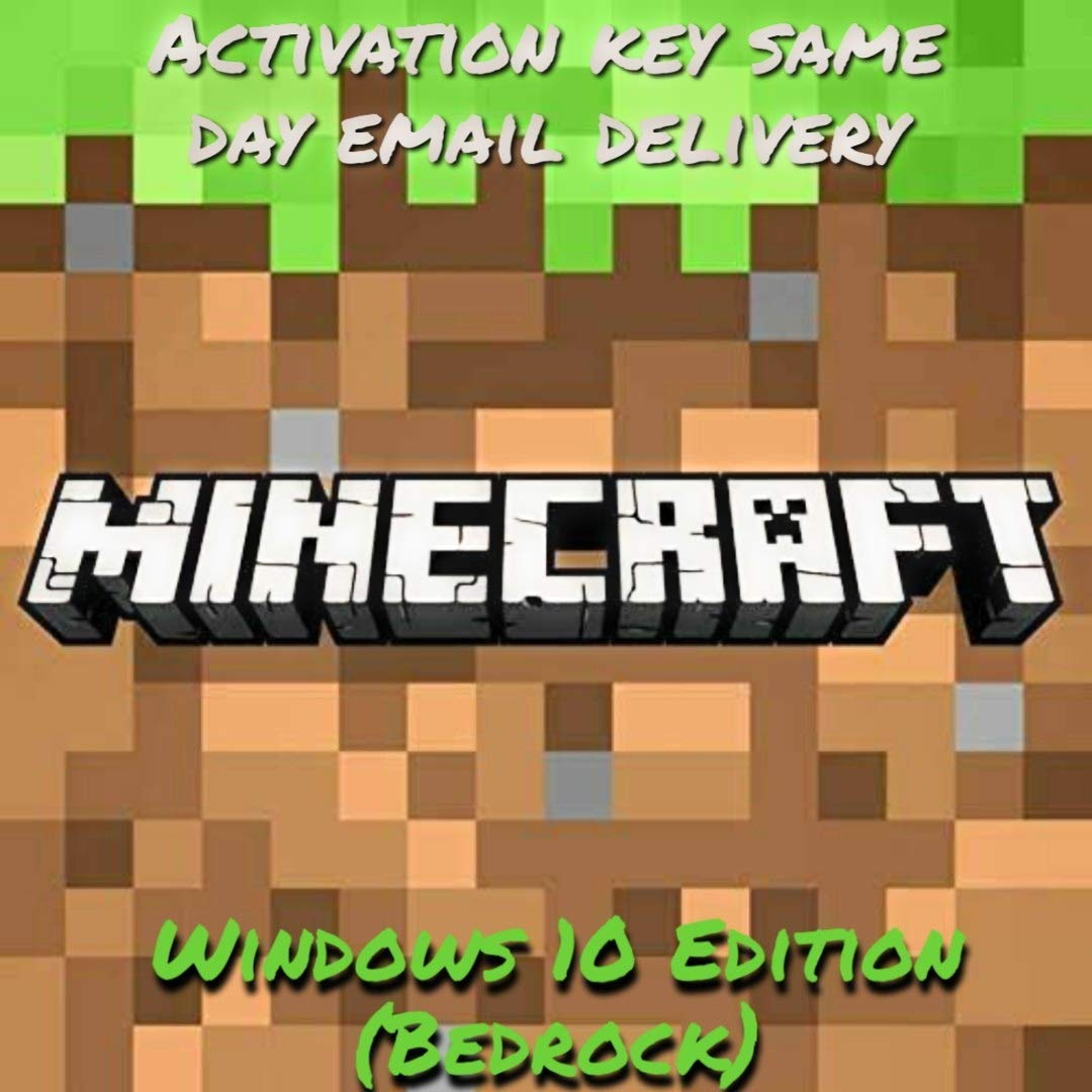 Minecraft Windows 10 Edition Code Product Key (Email Delivery - No CD/DVD) product image