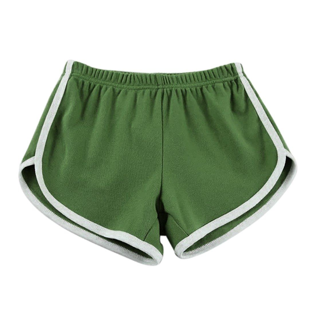 a47adac0d1e96 Wenyujh Damen Frauen Shorts Sport-Short Sporthose Hot Pants für Yoga Strand  Jogging