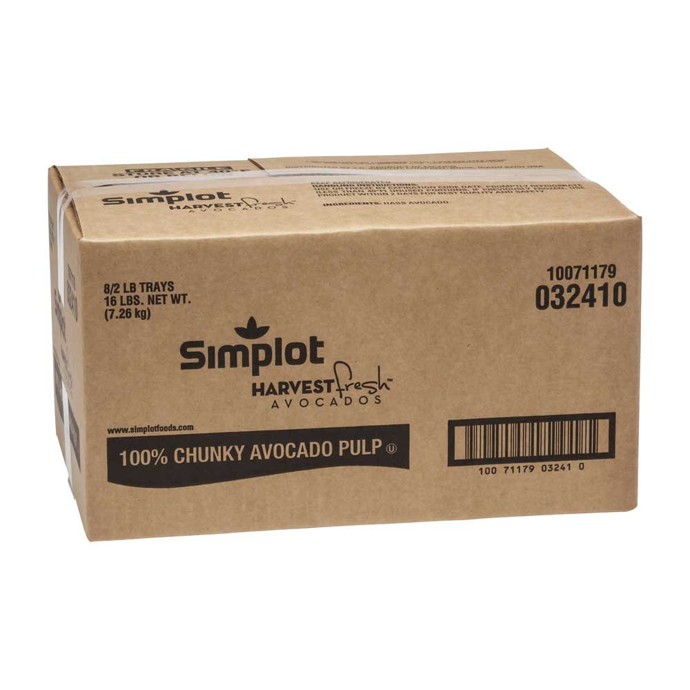 Simplot Harvest Fresh Avocados - Chunky Avocado Pulp Chilled, 2 Pound -- 8 per case. by Simplot (Image #3)