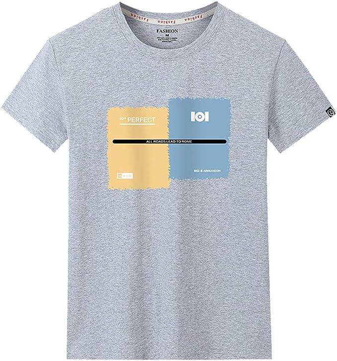 Luckycat – Camiseta de Hombre para Verano, Tiempo Libre, Cuello ...