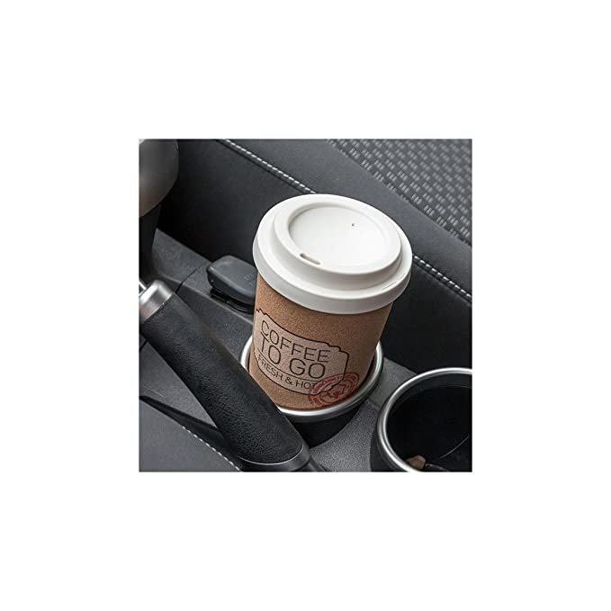 Vaso Térmico de Corcho Reciclado con Tapa Coffee To Go: Amazon.es ...