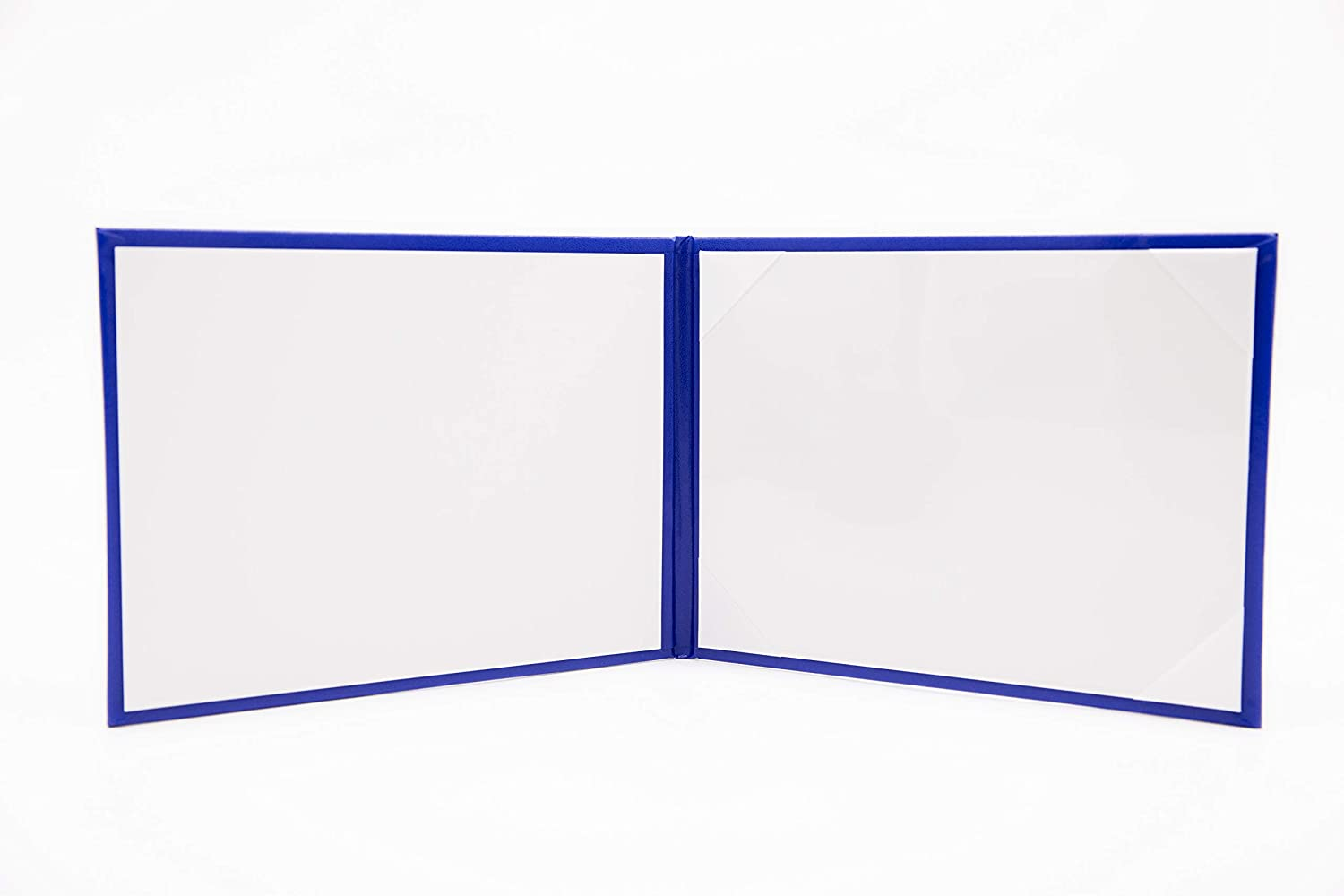 Certificate Cover Fit 6/×8 Certificate QE Store 6/×8 Royal Blue Diploma Cover Book Style