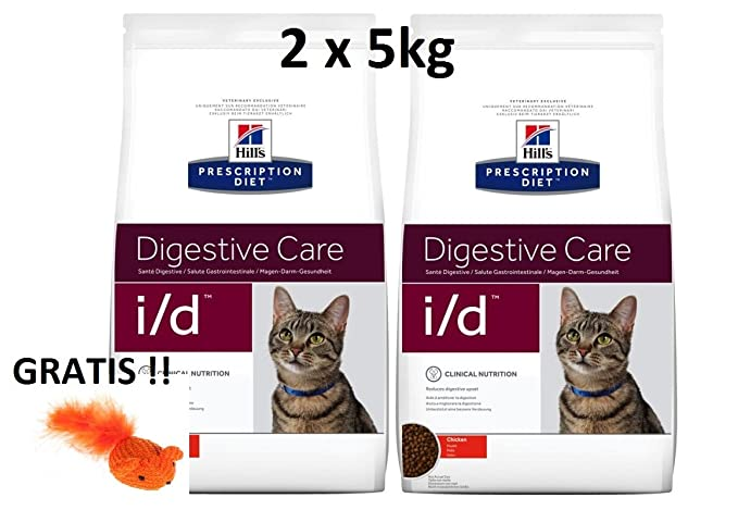 Hill s prescr iption Diet Feline I/D digestive Care: 2 x 5 kg ...