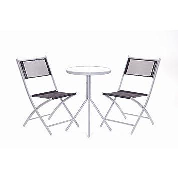 Bistro Set Set de balcon 2 chaises et 1 table salon de jardin Chaise ...