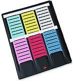 Nobo Mini - Planning à Fiches T Indice 2/ 3 Volets et 16 Fentes