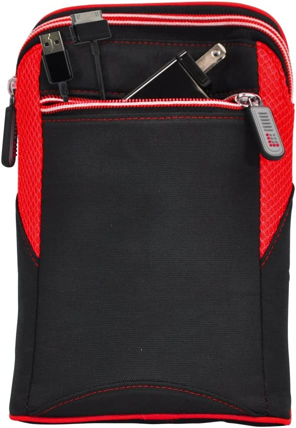 Lifeworks (LW-T1207R) 7-Inch Universal Tablet Sleeve, Black/Red(works with Kindle Fire, Google Nexus 7, Galaxy Tab 2, Acer Iconia Tab A100, Fits most 7-Inch Android Tablets)