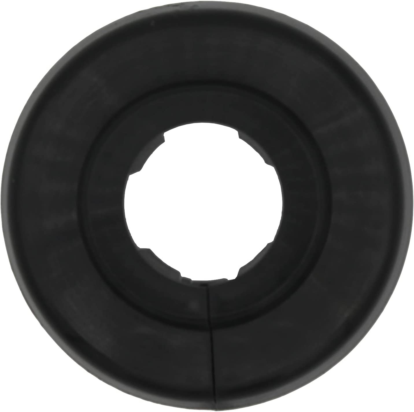 marr/ón gris 2 Piezas de rosetones para tubos de calefacci/ón 22mm; protectoras radiador // rosetas // cubiertas 15mm, RAL 9006 pl/ástico negro 18mm Aluminio Blanco para tubo di/ámetros: 15mm