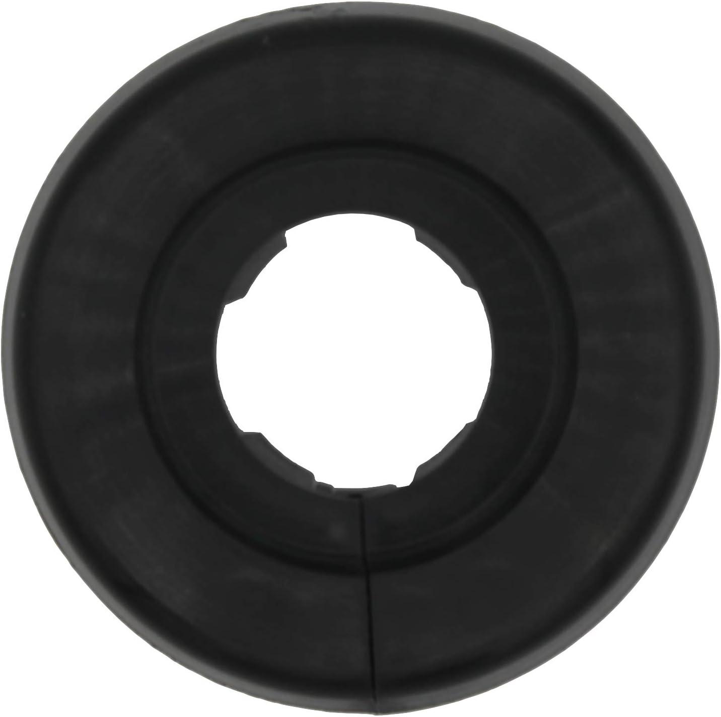 18mm, 18mm Negro Intenso marr/ón 22mm; protectoras radiador // rosetas // cubiertas pl/ástico negro RAL 9005 2 Piezas de rosetones para tubos de calefacci/ón para tubo di/ámetros: 15mm gris