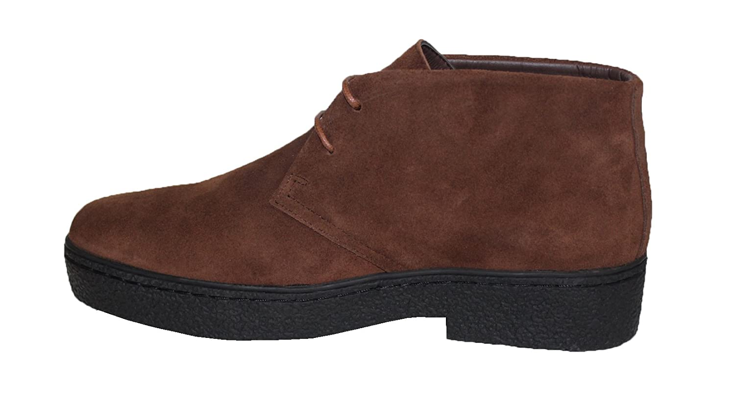 Playboy Style # 5611 Chukka High Top Mens Brown Suede Shoes Rocker British Style