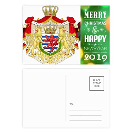 Amazon com : Luxembourg National Emblem Country Symbol 2019 New Year