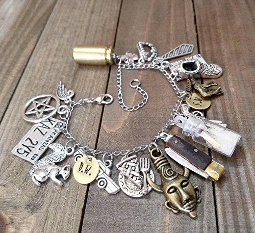 supernatural-charm-bracelet-cosplay-jewelry-charm-bracelet-impala-salt-vial-moose-squirrel-dean-winc