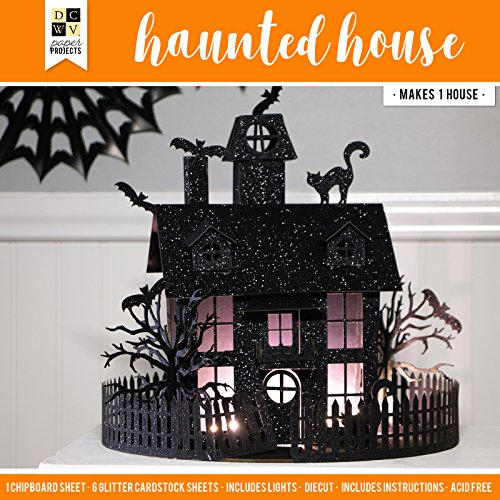 DCWV 614597 Haunted House Paper Project, Multicolor]()