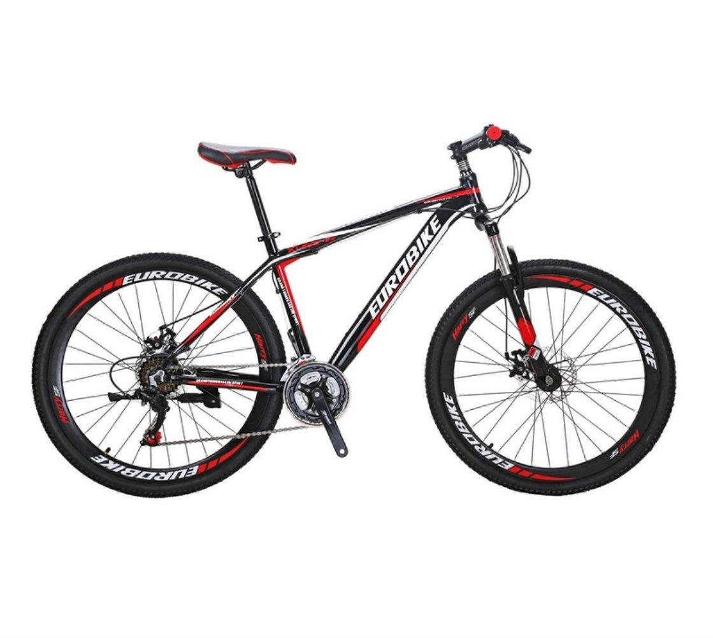 Extrbici GTR 自転車 マウンテンバイク MTB 26インチ アルミフレーム シマノ21段変速 ディスクブレ-キ 中古品 B07CZZCY5Q レッド レッド