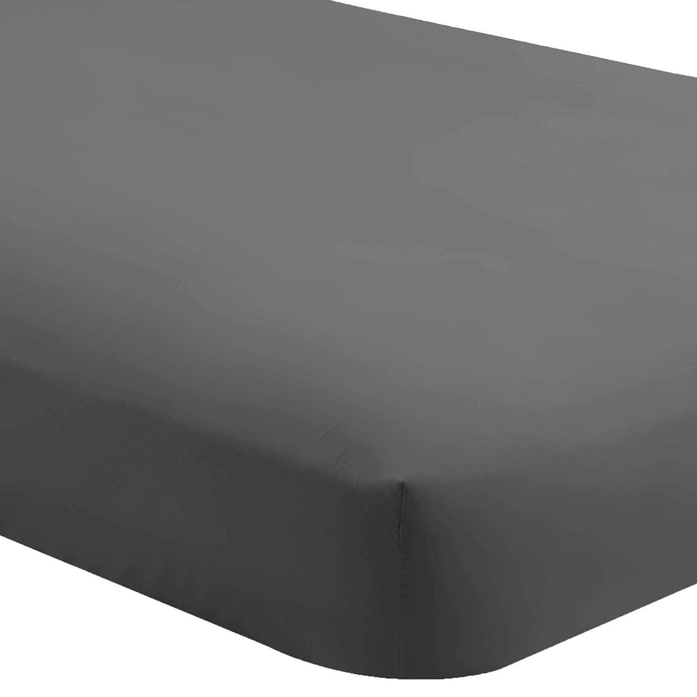 Bare Home Fitted Bottom Sheet Full Extra Long - Premium 1800 Ultra-Soft Wrinkle Resistant Microfiber - Hypoallergenic - Deep Pocket (Full XL, Grey)