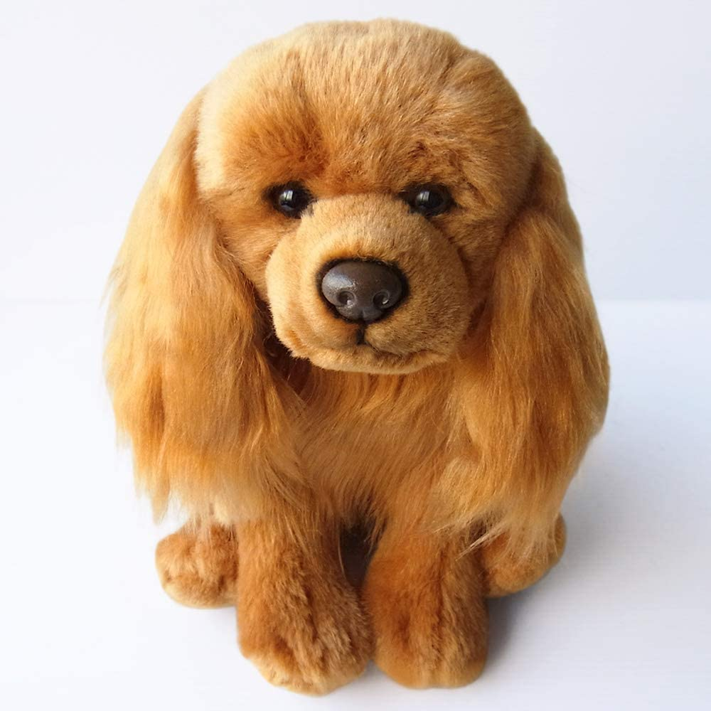 This Is Fine Dog Stuffed Animal, Sawley Fine Arts Plush Dog Cavalier Ruby Stuffed Collectible Animal Cute Present Amazon Ca Clothing Accessories