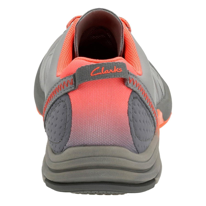 Clarks Women's Wave Kick Lace Up Shoe, Grey Mesh, US 8.5 W: Amazon.co.uk:  Shoes & Bags