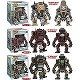 Titanfall 2 Jack Pop and BT Titan Vehicle, Sarah Pop and MOB-1316 Titan Vehicle, Blisk Pop and Legion Titan Vehicle! Set of 3