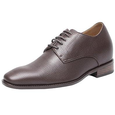 0734c4ff374f CHAMARIPA Homme Chaussures rehaussante de Ville à Lacets Oxford Mariage  Décontracté- Plus Grand de 7