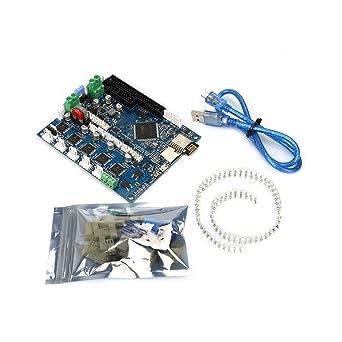 FYSETC Kit de placa base para impresora 3D Duet 2 Wifi V1.04 ...